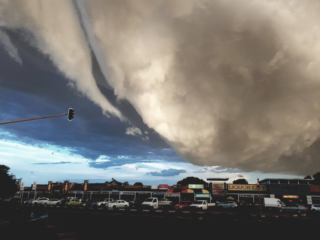 Maushami Chetty On Inspiration Adventure: Pictures: Sinister Clouds Bring Heavy Rain
