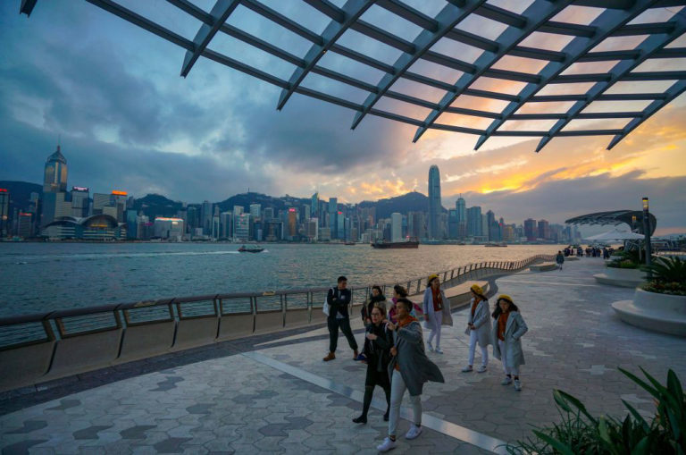 Hong Kong's Avenue of Stars reopens