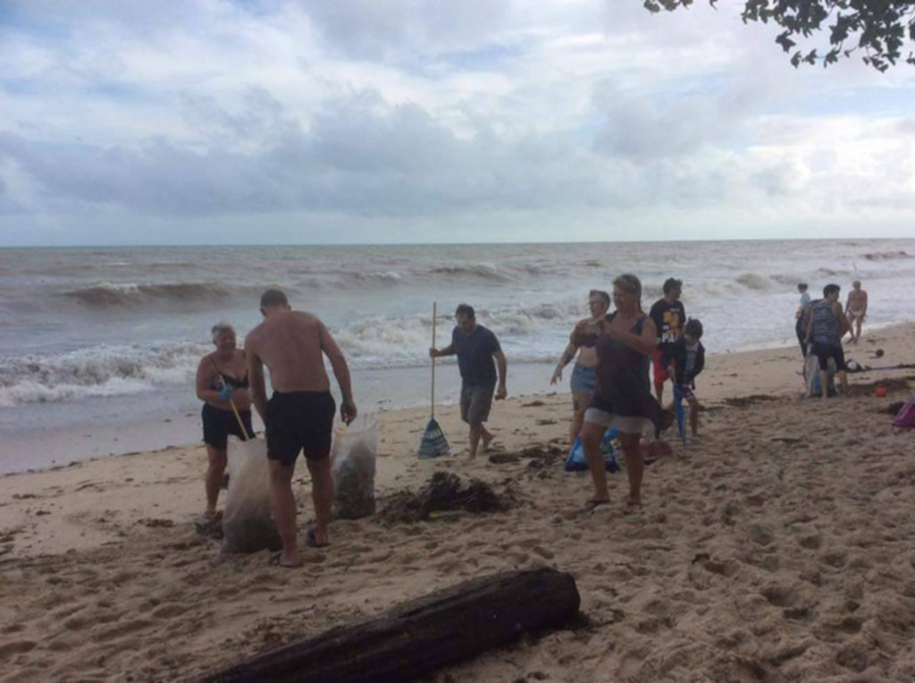 Maushami Chetty On Inspiration Adventure: Locals And Tourists Clean Up Beaches After Tropical Storm
