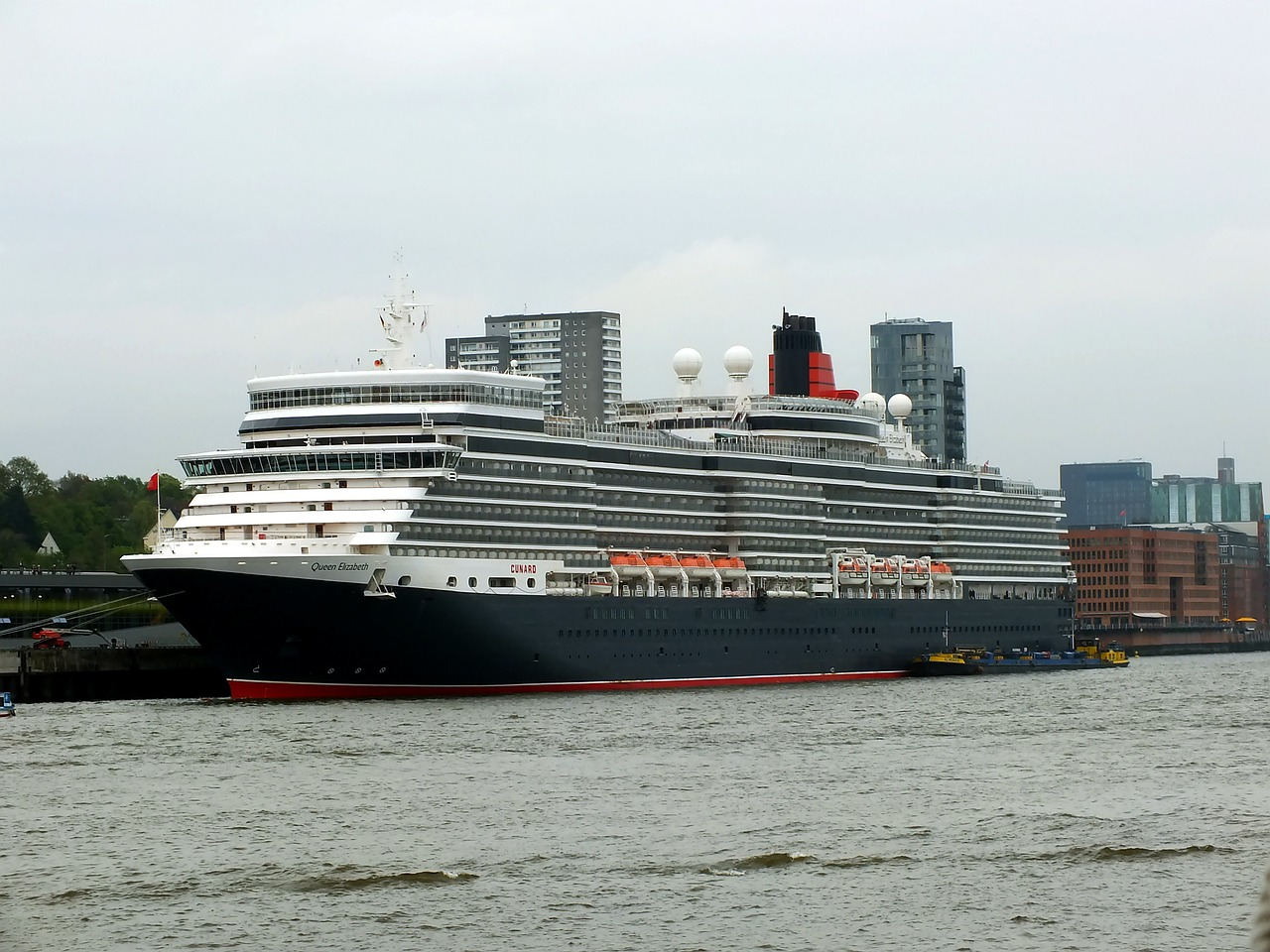 Things you didn't know about the MS Queen Elizabeth