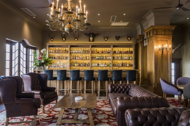 Small plates to share are also served in the Craven Lounge at Lanzerac. Photo: Supplied.