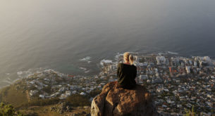 The view from the summit of Lion's Head makes the trail worth climbing. Photo: Nadine Hondebrink.