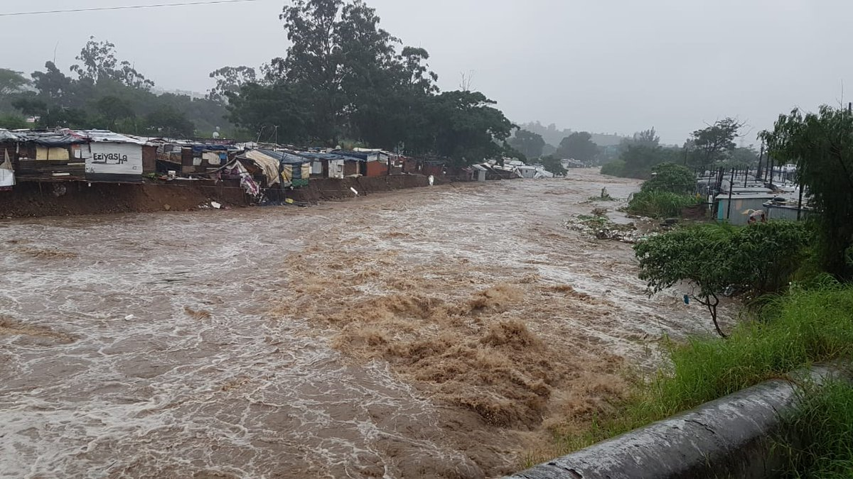 Holiday-makers stranded in KZN downpours