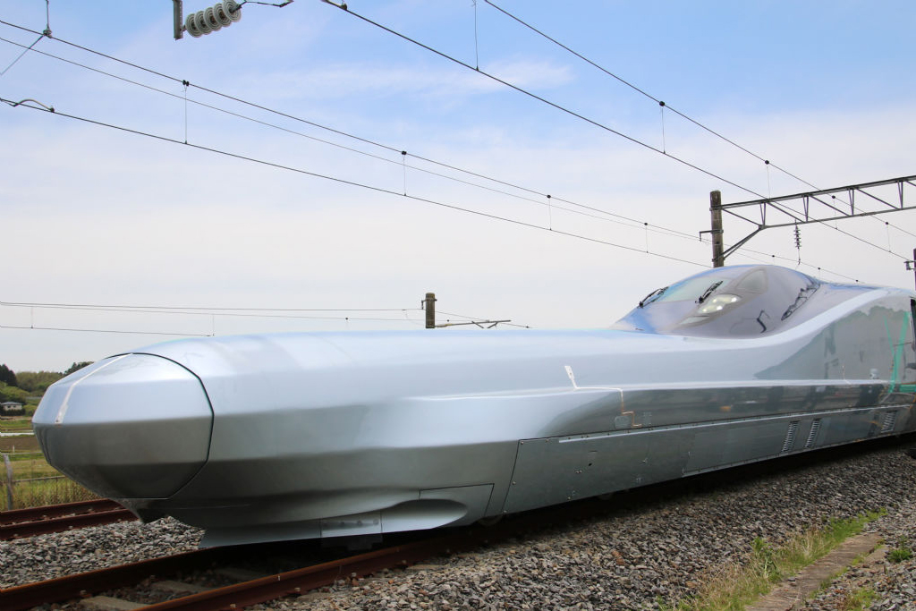 World's fastest bullet train is being tested in Japan