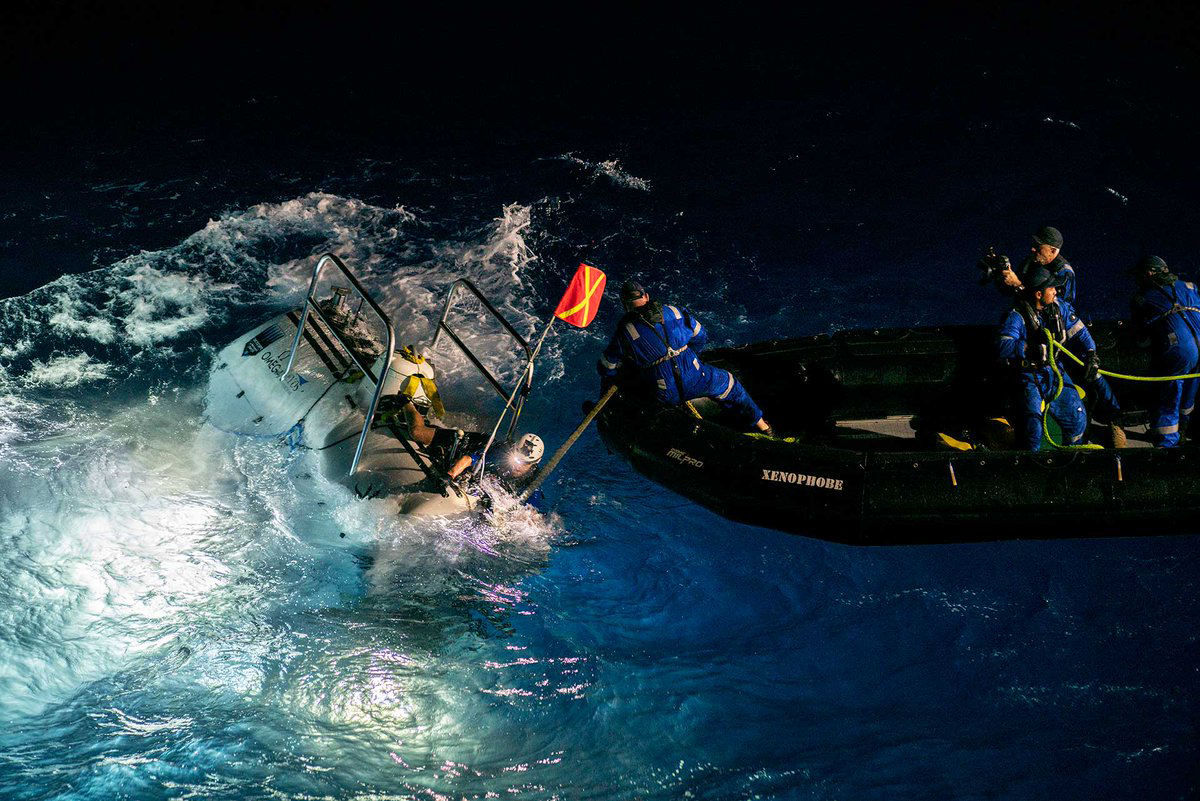 Deep sea diver finds plastic at bottom of Mariana Trench