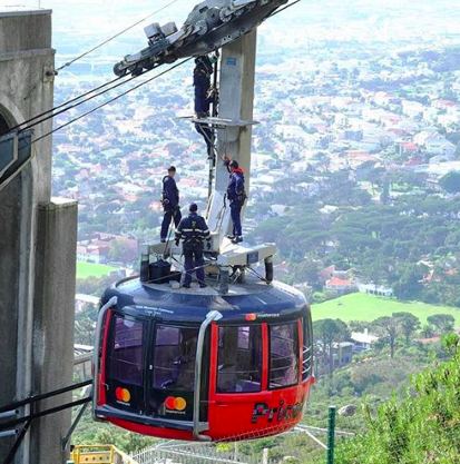Table Mountain Cableway temporary closure