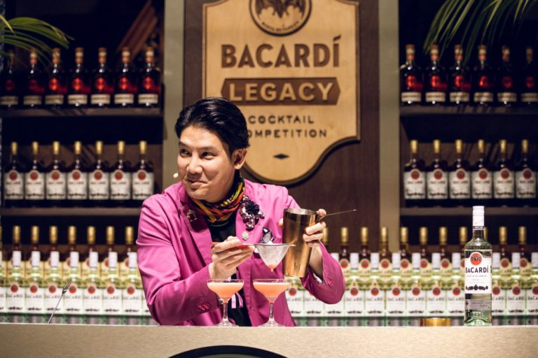 Thailand's Ronnaporn Kanivichaporn won the 2019 competition. He is the first person representing an Asian country to win the contest. Image: Bacardí.