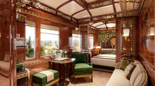 Vienna Simplon-Orient-Express, train travel, luxury, train