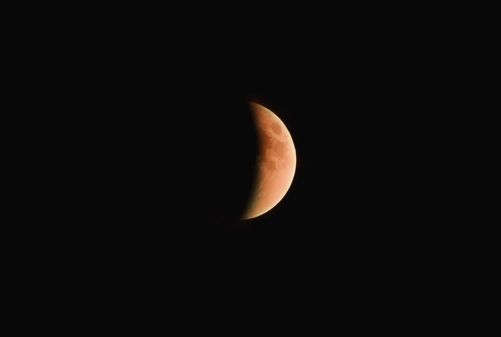 Where to see tonight's 'Half-Blood Thunder Moon Eclipse'
