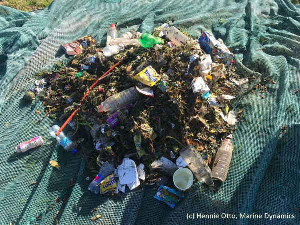 plastic waste, trash