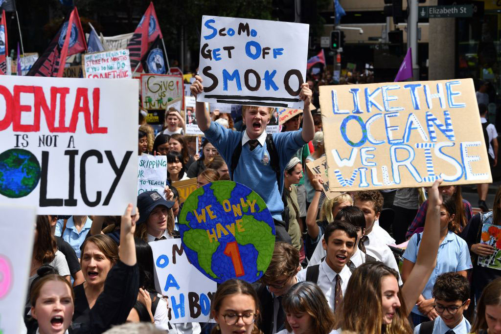 Watch: Millions join today's Global Climate Strike