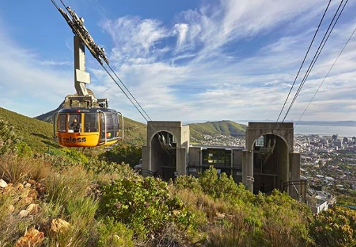 90 years of the Table Mountain Cable Cars