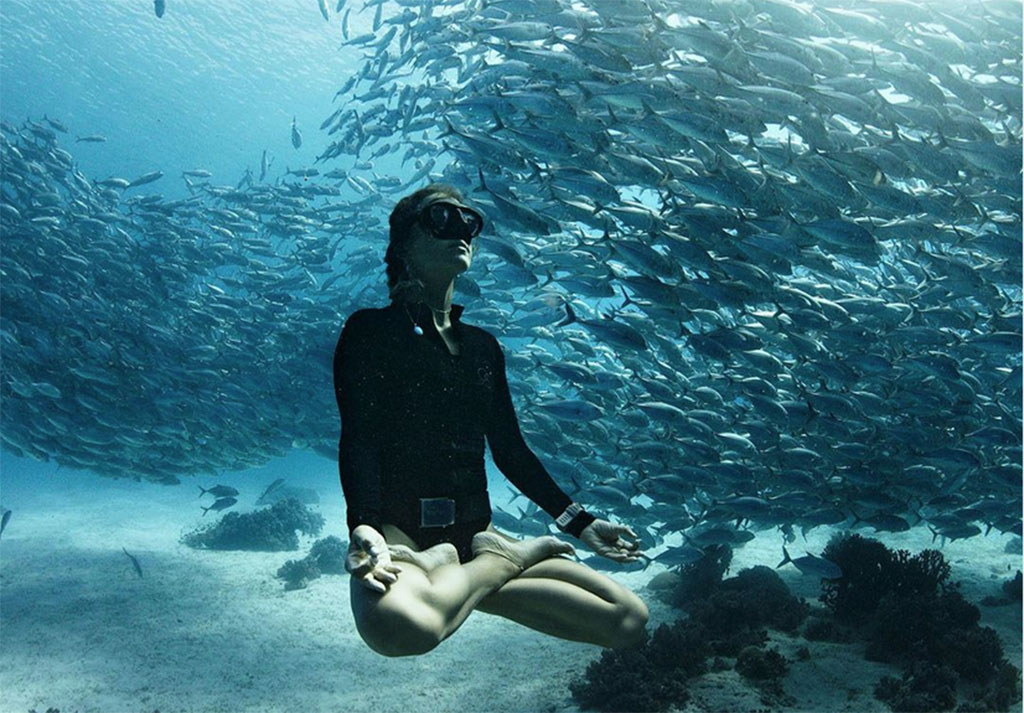 SA champ offers yoga and freediving classes in Durban and Bali