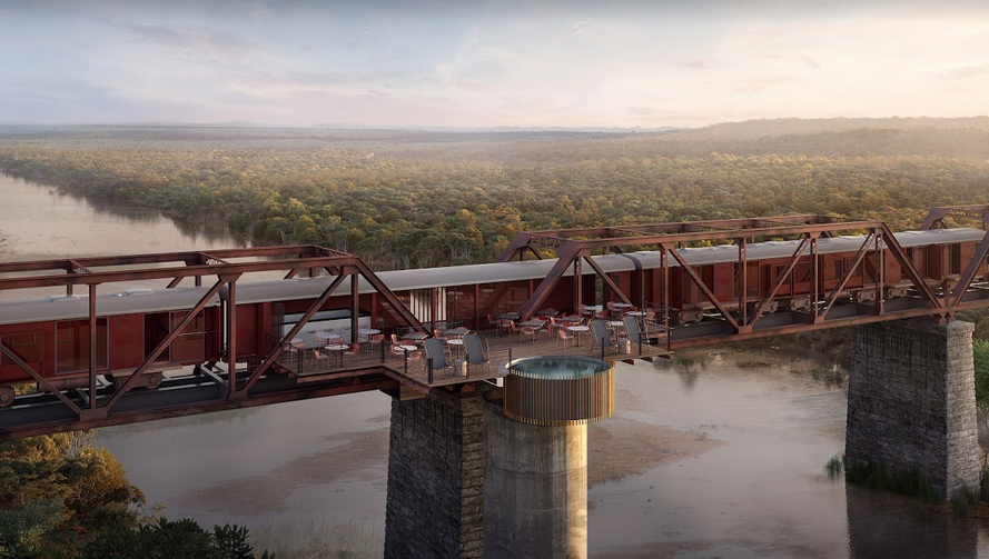 Kruger Shalati: The Train on the Bridge is officially open