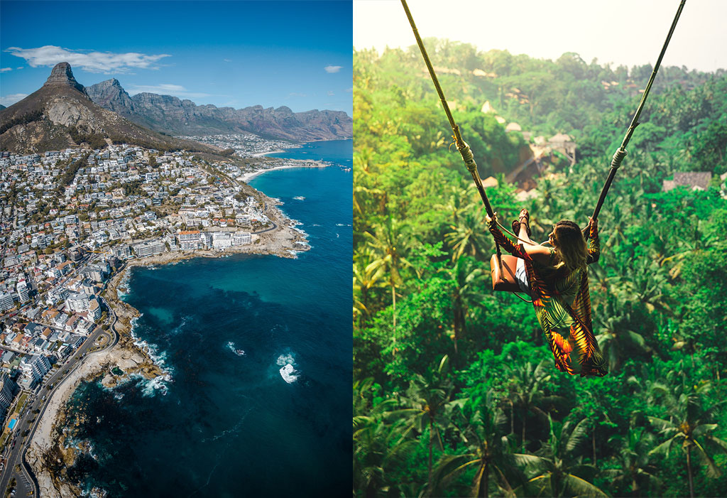 Fodors' 'Travel NO List' includes Cape town and Bali