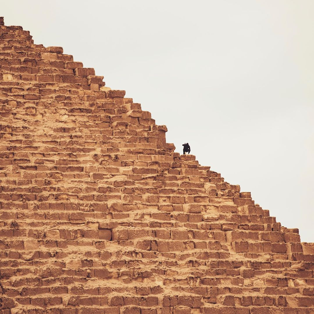 Man jailed for climbing Pyramids of Giza