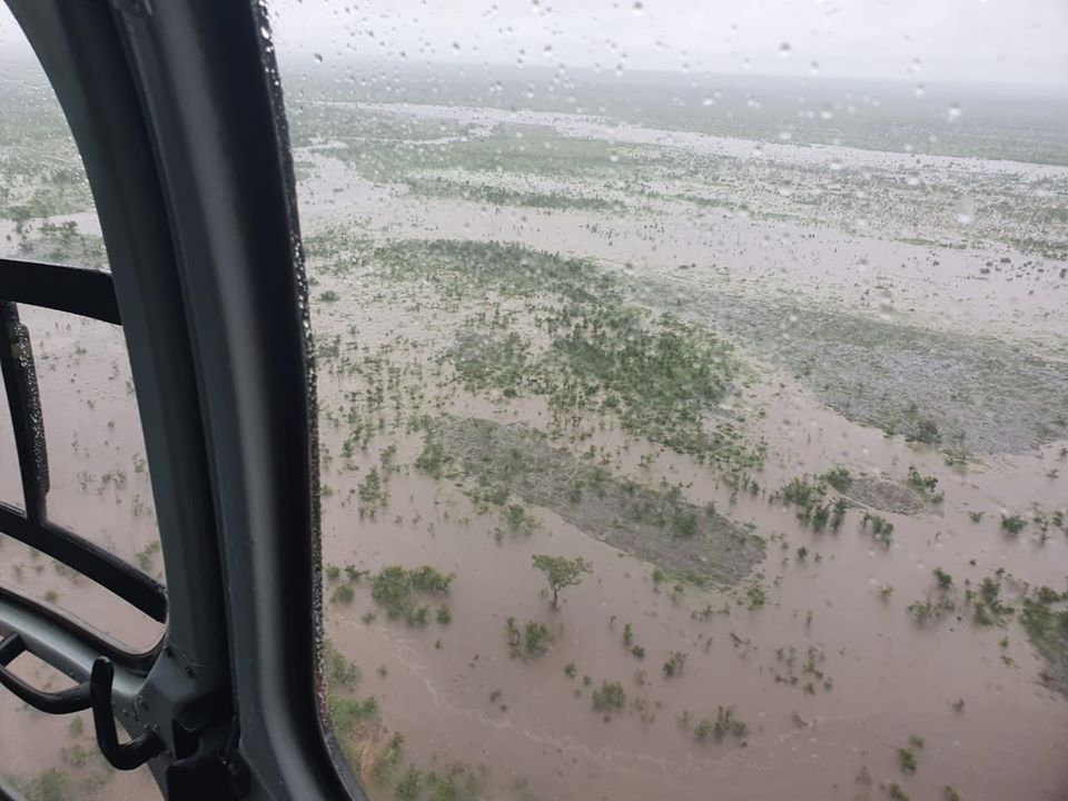 The Kruger National Park is flooding