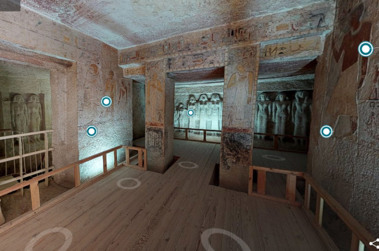 Explore A 5 000 Year Old Egyptian Royal Tomb