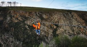 The Knysna Zipline is officially open