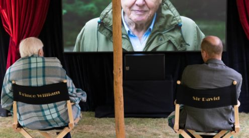 Sir David Attenborough shatters Guinness World Record