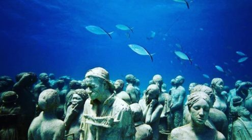 France to open underwater sculpture museums
