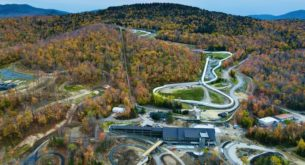 New bobsled mountain coaster opens in New York