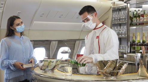 Emirates redesigns onboard experience
