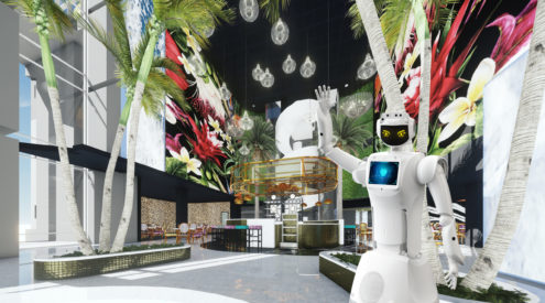 New Joburg hotel to employ robot assistants