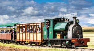 Attend Sandstone Spring Steam Festival near Clarens in November
