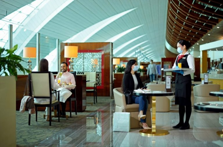 Emirates reopens airport lounges