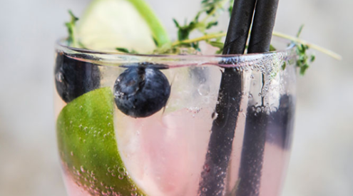 The Blueberry Lime refresher from First Choice