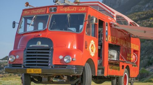 WIN a 3-hour trip around the Cape Peninsula on a vintage fire truck