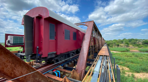 WIN a two-night stay for two at the Kruger Shalati Train on the Bridge worth R35 800