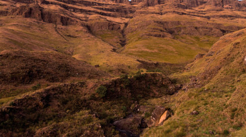 Scaling South Africa's highest peak