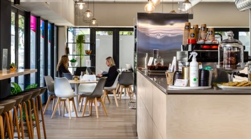 Cape Town's Foreshore gets a nudge and a WINK Café