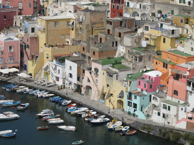 The island of Procinda named Italy's Capital of Culture for 2022