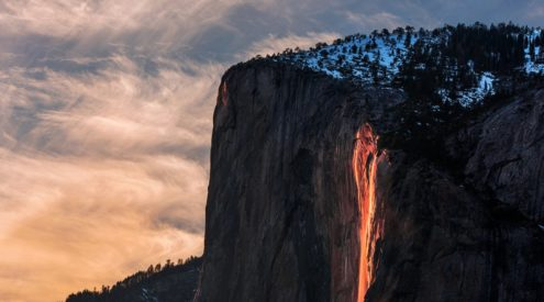 How to watch the Yosemite Firefall this February