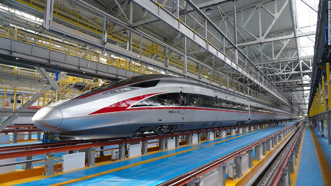China's new high-speed train was built to operate in extremely cold climates