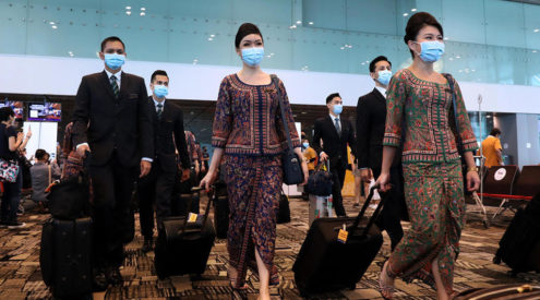 Singapore Airlines aims to be first fully vaccinated carrier