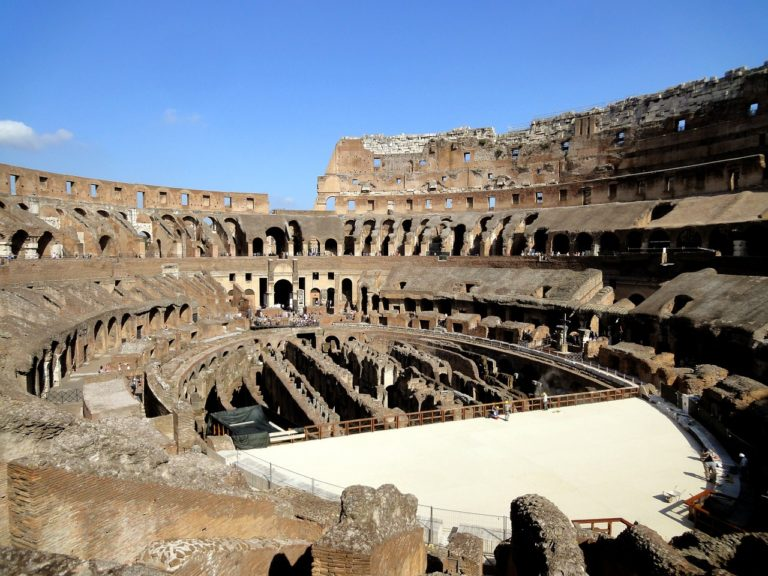 Plans afoot to install retractable floor in Rome's Colosseum