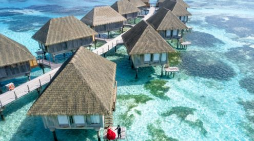 Canadian couple lives in Maldives resort for a year