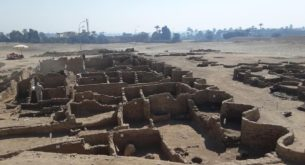 Egypt's long-lost city buried in sand
