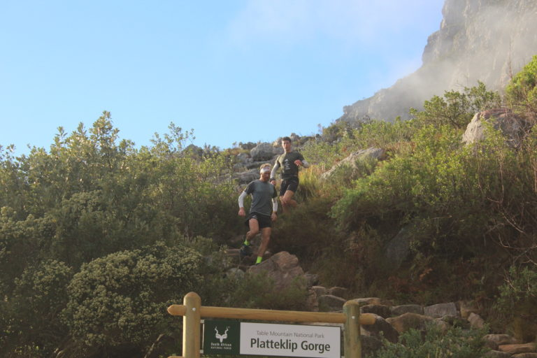 South African trail runners set new Guinness World Record