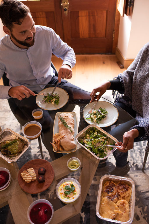 Restaurant dining at your dinner table with Steenberg