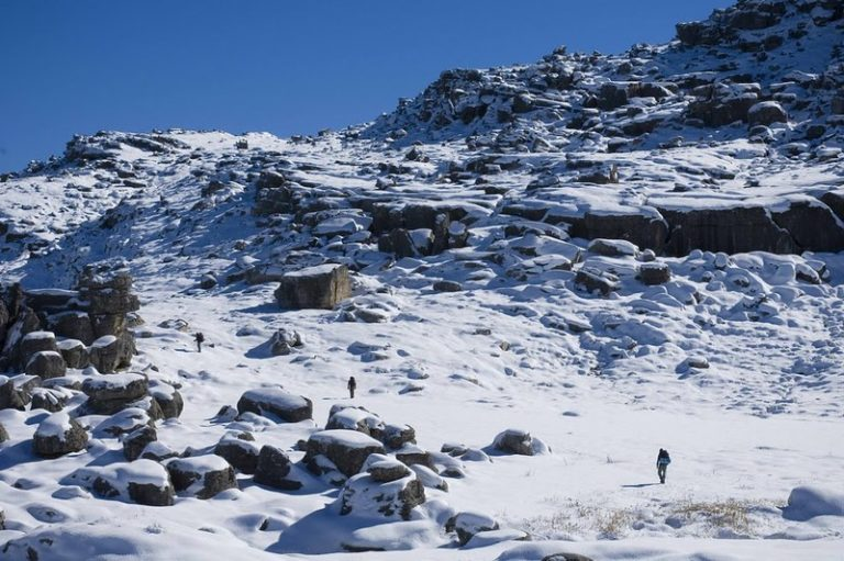 Level 4 snow warning for parts of South Africa