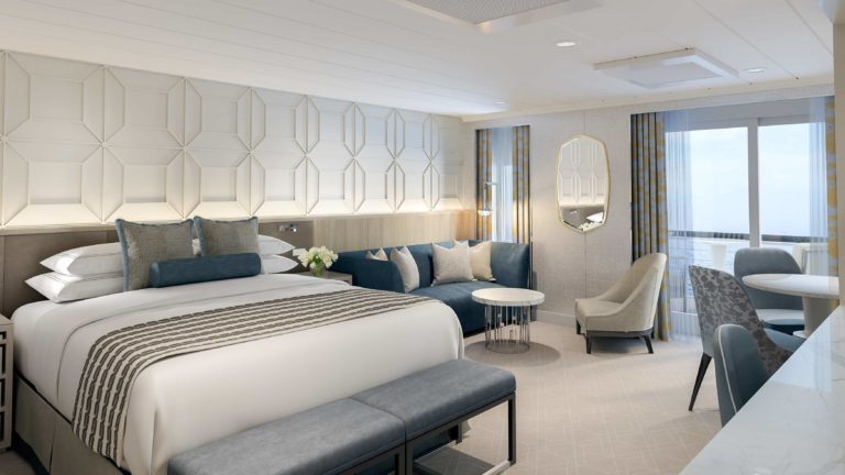 Oceania Cruises reveals new ship suite and stateroom designs