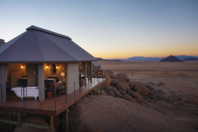 Luxury lodges in Namibia perfect for stargazing